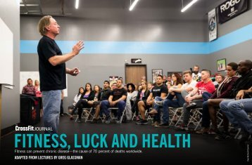 FITNESS LUCK AND HEALTH