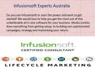 Infusionsoft training and pricing australia