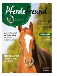 Pferdefreund - Das Magazin für Reitinteressierte 08/2016