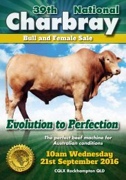 2016 Charbray National Sale Catalog
