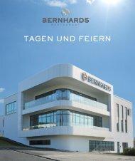 BERNHARDS Restaurant - Tagen und Feiern