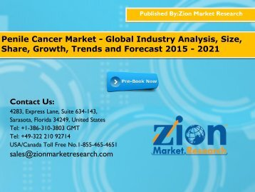 Penile Cancer Market