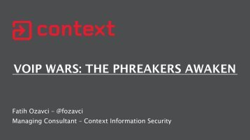 VOIP WARS THE PHREAKERS AWAKEN