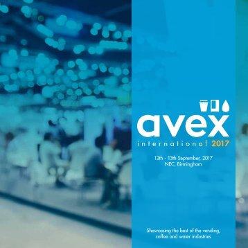 AVEX Sales Brochure 2017 - V10 (FINAL) (for web)