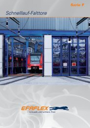 Serie F - EFAFLEX Tor