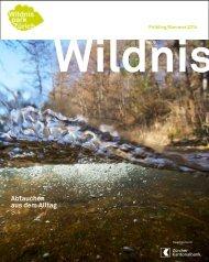 Wildnis Frühling/Sommer 2014