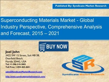 Superconducting Materials Market