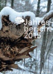 Wildnispark Zürich Jahresbericht 2015
