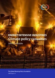 Climate policy casualties