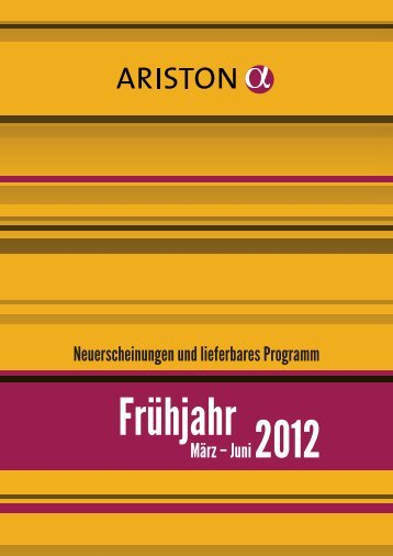 Vorschau Frühjahr 2012 - Verlagsgruppe Random House GmbH