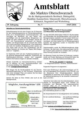 Oberschwarzach Amsblatt - 2016-07 CS