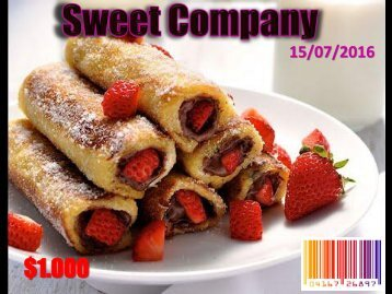 Camila Quijano Sweet Company 1102