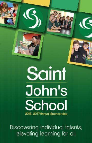 2016-2017 Annual Sponsorhip Brochure