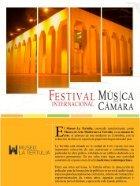 REVISTA VIRTUAL FESTIVAL INTERNACIONAL DE MÚSICA DE CÁMARA H.R. - Page 4