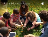 iPad in Education Results