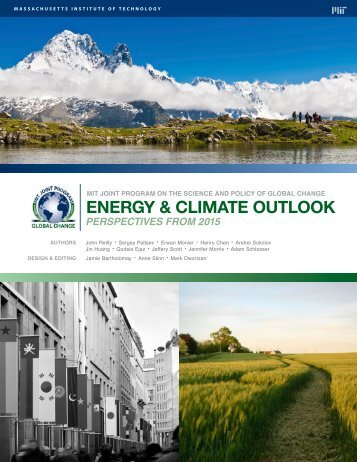 ENERGY & CLIMATE OUTLOOK