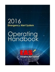 2016 EAS Operating Handbook