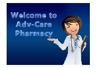 Buy Drugs from Adv-Care Pharmacy