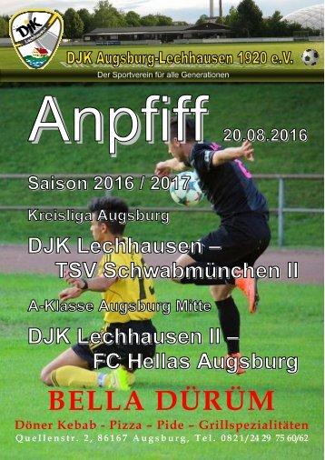 Anpfiff_2016-08-20 - DJK Lechhausen