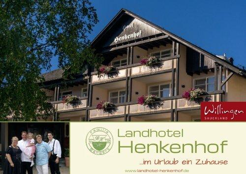 Prospekt Landhotel-Henkenhof Willingen