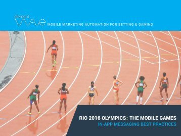Rio 2016 Olympics The Mobile Games