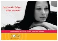 Lust und Liebe – aber sicher! - Aliud Pharma GmbH & Co. KG
