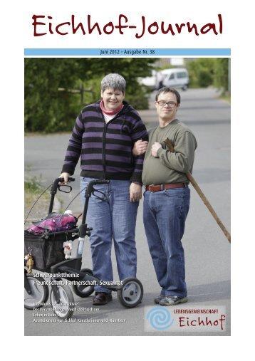 Eichhof-Journal - Lebensgemeinschaft Eichhof