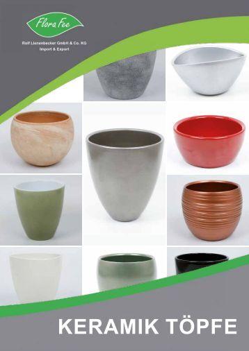 Katalog Keramik 2016   Flora Fee