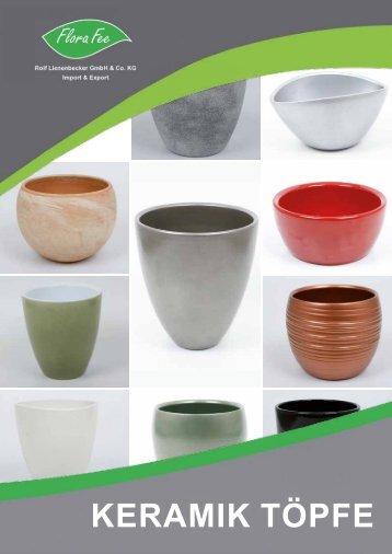 Katalog Keramik 2016 | Flora Fee
