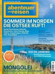 Leseprobe abenteuer und reisen #8 Sommer im Norden