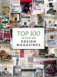 Top 100 Interior Design Magazines