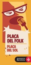 PLACA DEL FOLK