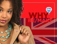 Why RE/MAX? Franchise prospectus.
