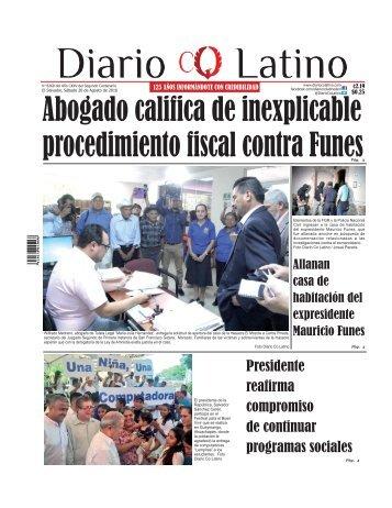 Edición 20 de Agosto de 2016