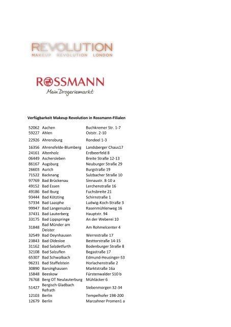 rossmann rheinbach