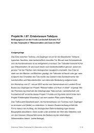 Projekt Nr. I.67: Erlebnisraum Tafeljura