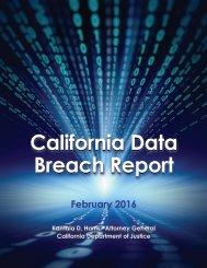 California Data Breach Report