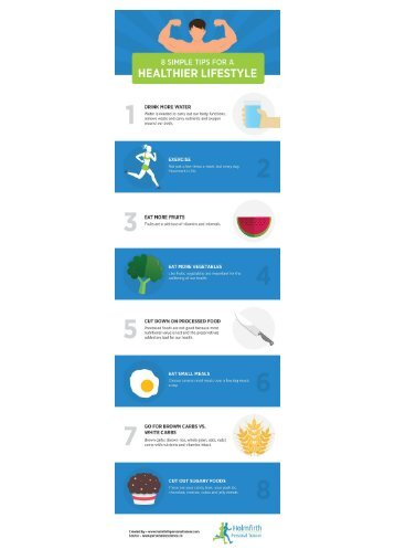 10 Simple Tips for a Healthier Lifestyle