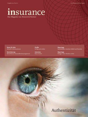 insurance - Hoesch & Partner