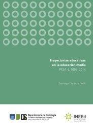 Trayectorias educativas en la educación media PISA-L 2009-2014
