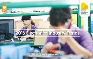 2016 Electronics Industry Trends