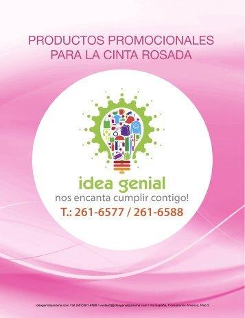 Idea Genial Catálogo Cinta Rosada