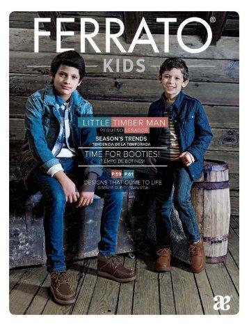 Calzado Ferrato kids - Otoño invierno '16