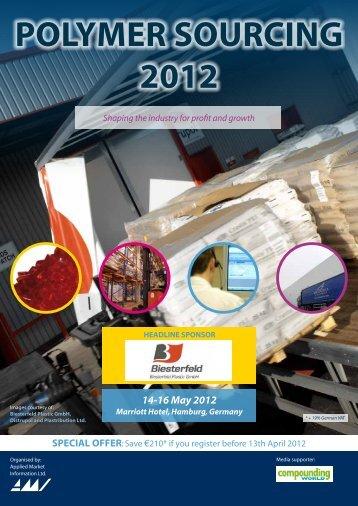 POLYMER SOURCING 2012 - Applied Market Information Ltd