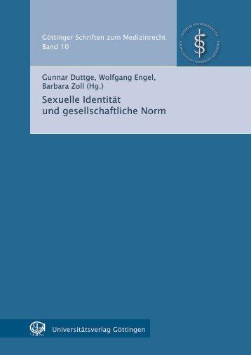 Geschlechtsdifferenzierung und ihre Abweichungen - oapen