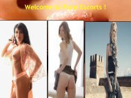 Hottest Female Escorts in Pune for enjoy Holiday