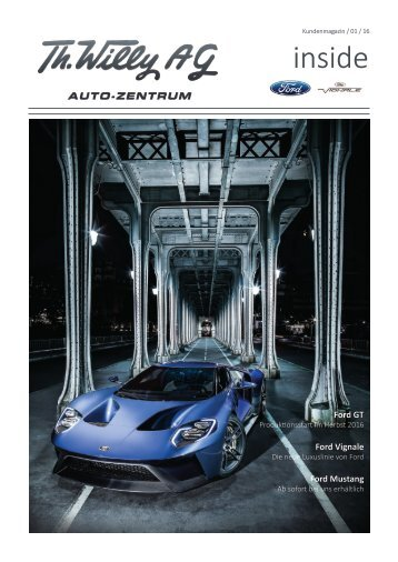 Th. Willy AG Inside Ford Ausgabe 01