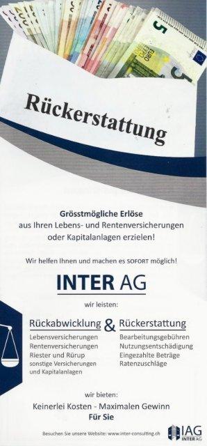 Flyer Inter AG Online