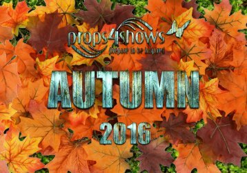Props4Shows Autumn 2016