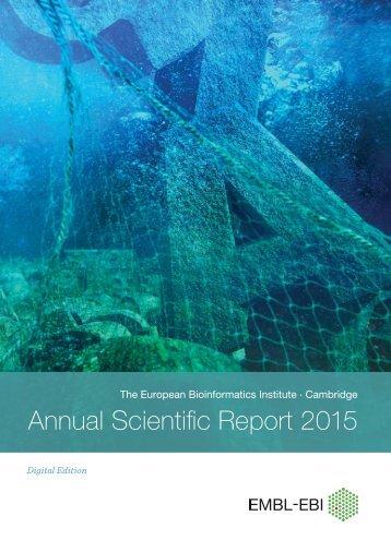Annual Scientific Report 2015
